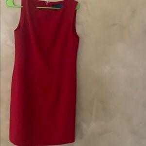 Karen Scott red dress